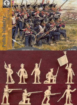 WATERLOO AP008 POLISH INFANTRY 1812/14