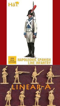 HÄT 8302 NAPOLEONIC SPANISH LINE INFANTRY