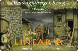 "munich-Kits FHDK01 Dreißigjähriger Krieg ""Plünderer"" Set 1"