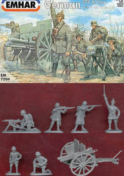 EMHAR 7204 GERMAN WWI ARTILLERY 1916-18
