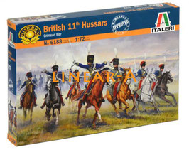"ITALERI 6188 BRITISH 11th HUSSARS ""CRIMEAN WAR"""