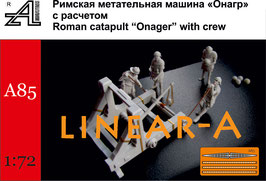 "ALEXMINIATURES 72A85 Roman Catapult ""Onager"" with Crew"