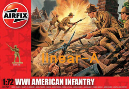 AIRFIX A01729 WWI AMERICAN INFANTRY 1:72