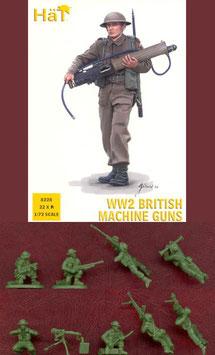 HÄT 8228 WWII BRITISH MACHINE GUNS