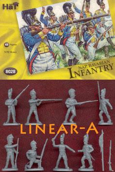 HÄT 8028 Napoleonic Bavarian Infantry