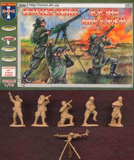 ORION 72038 SOVIET DshK AA MG + CREW