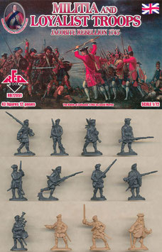 REDBOX 72051 JACOBITE REBELLIONS MILITIA AND LOYALIST TROOPS 1745