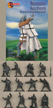 MARS 72057 TEUTONIC FOOT KNIGHTS XV CENTURY