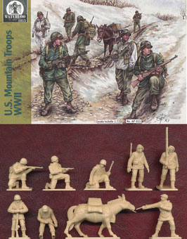 WATERLOO AP031 WWII US MOUNTAIN TROOPS