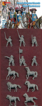 MARS 72045 FRENCH MOUNTED GUARDS ROYAL MUSKETEERS
