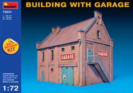 MINIART 72031  BUILDING WITH GARAGE 1:72
