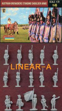 Strelets 204 Austrian Grenadiers Standing Shoulder Arms