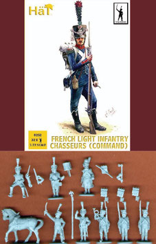 HÄT 8252 FRENCH LIGHT INFANTRY CHASSEURS COMMAND