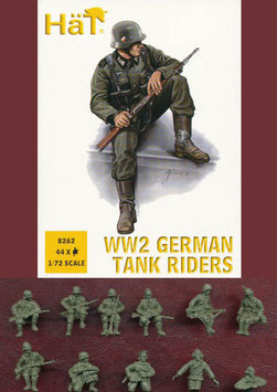 HÄT 8262 GERMAN TANK RIDERS