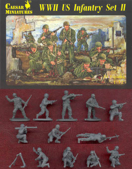 CAESAR H071 WWII US INFANTRY SET 2