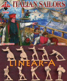 REDBOX 72106 Italian Sailors 16-17 centry. Set 2