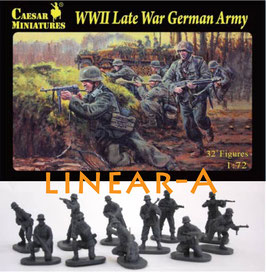 CAESAR H074 WWII LATE WAR GERMAN ARMY