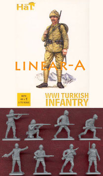 HÄT 8070 WWI Turkish Infantry