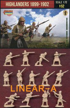 STRELETS M139 Highlanders in Attack 1899-1902