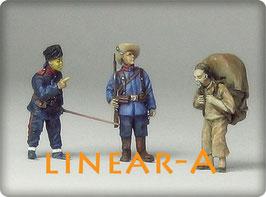 munich-Kits FHEW16 Deutsches Ostasiatisches Expeditionskorps / China 1900  Kolonialzeit Set 1