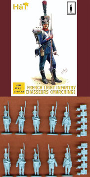 "HÄT 8219 FRENCH LIGHT INFANTRY CHASSEURS ""MARCHING"""