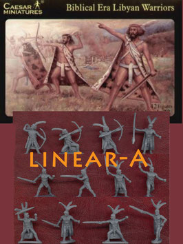 CAESAR H022 BIBLICAL LIBYAN WARRIORS
