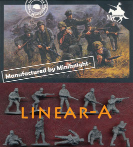 CAESAR HB07 WWII GERMANS ARMY (COMBAT TEAM TWO)