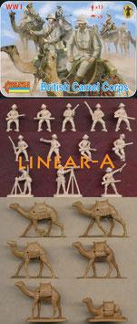 STRELETS 165 British Camel Corps