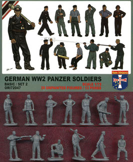 ORION 72047 GERMAN WWII PANZER SOLDIERS BASIC SET 2