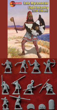MARS  72087 LATE MYCENAEAN LIGHT INFANTRY