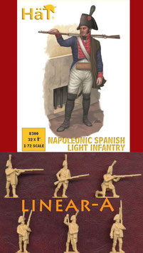 HÄT 8300 NAPOLEONIC SPANISH LIGHT INFANTRY