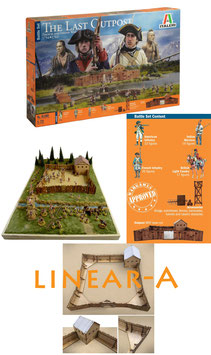 ITALERI 6180 THE LAST OUTPOST 1754-1763 FRENCH AND INDIAN WAR