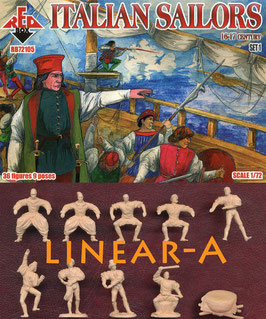 REDBOX 72105 Italian Sailors 16-17 centry. Set 1