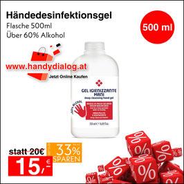 Desinfektionsgel 500 ml