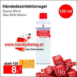 Desinfektionsgel 125 ml