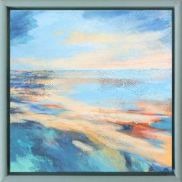 """Sandbank"" Original Acrylbild auf Leinwand"