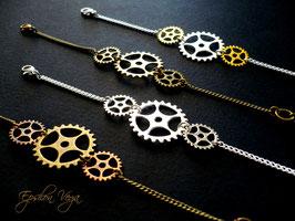 Bracelet engrenages modèle 1