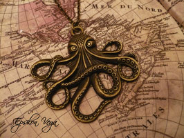 Collier sautoir Octopus