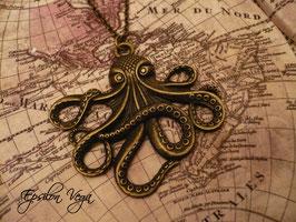 Collier sautoir Octopus