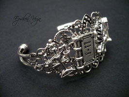 Bracelet rigide La Belle et la Bête 1