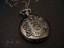 Montre pendentif Harry Potter - Serpentard