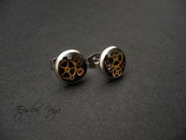 Boucles d'oreille puces - Pièces uniques