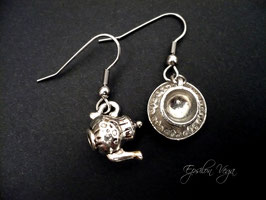 Boucles d'oreilles Tea Time