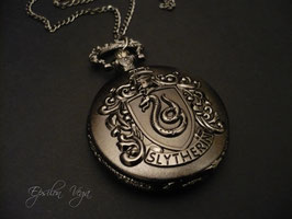 Montre pendentif Harry Potter - Serpentard
