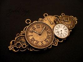 Broche L'Obsession du Temps