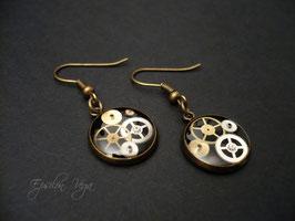 Boucles d'oreille pendantes - Pièces uniques