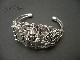 Bracelet rigide La Belle et la Bête 2