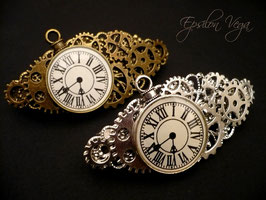 Barrette Steampunk
