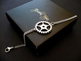 Bracelet Engrenage en acier inoxydable