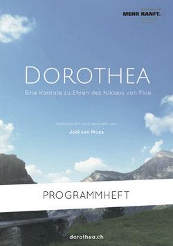 «Dorothea» – Textheft